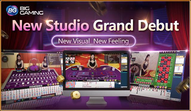 Big Gaming (บิ๊กเกมมิ่ง) คาสิโนออนไลน์ BG Live Casino